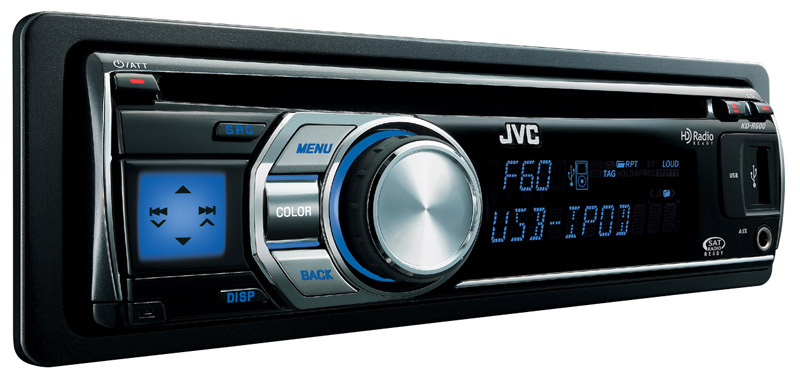 Jvc car receiver models