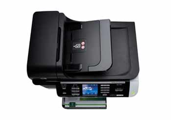 HP Officejet 8500 Wireless All-in-One Top View
