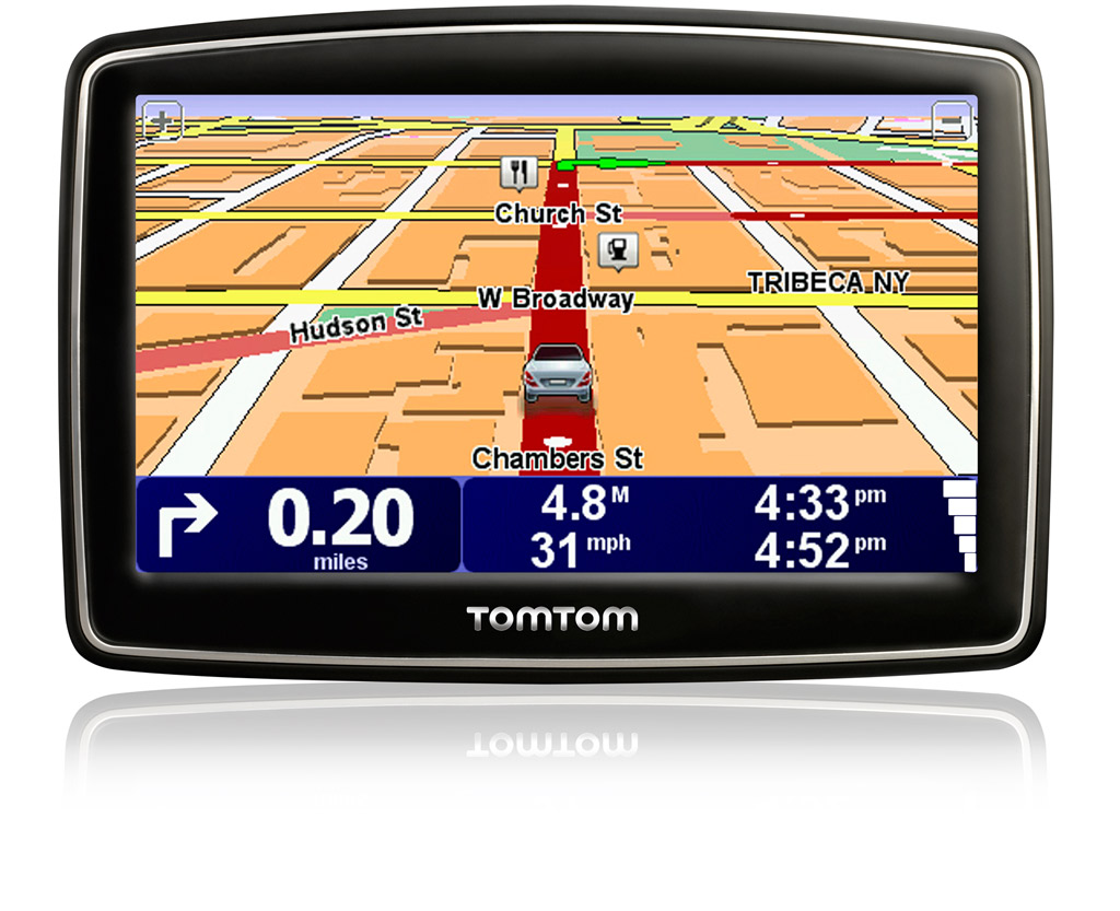 Complete navigation in a widescreen device. Click to enlarge.