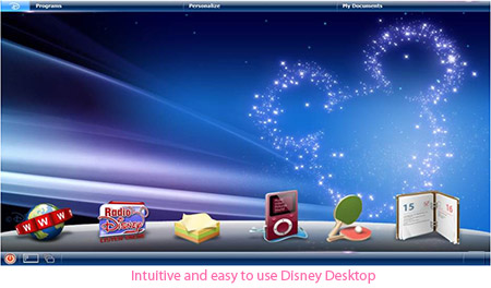 Intuitive Disney Desktop
