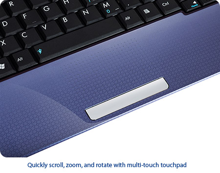 Multi-touch Touchpad for Ease of Use