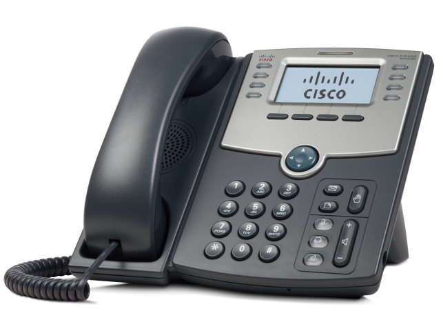 Cisco SPA 508G VoIP Phone Review (source = amazon.com)