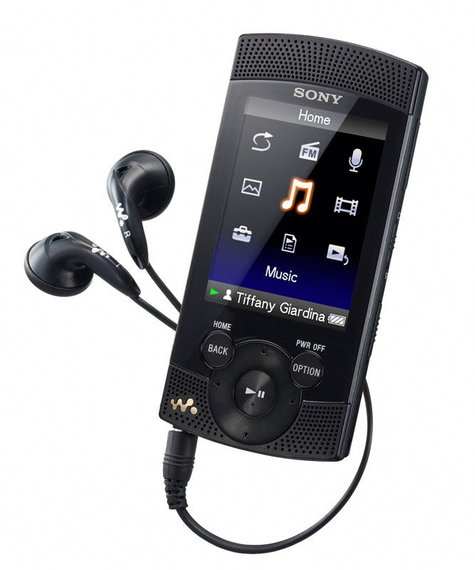 Sony NWZS545 16 GB Walkman MP3 Video Player (Black) (Discontinued by
