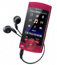 Sony Walkman NWZS545RED