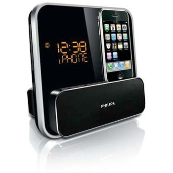 B002IT1BFO 1 th Philips DC315/37 Speaker System for iPod/iPhone with LED Clock Radio (Black)