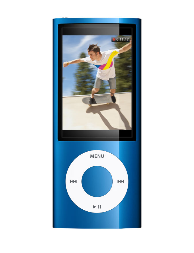 apple ipod nano 5th gen blue 16 gb video voice recorder. Black Bedroom Furniture Sets. Home Design Ideas