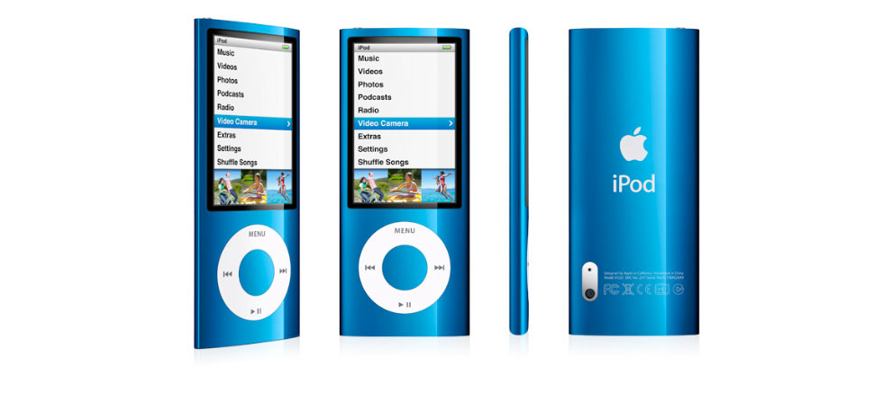 Amazon.com: Apple iPod nano 8 GB 5th Generation(Blue) (Discontinued by