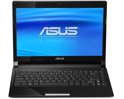 B002XZLURC Front ASUS UL30VT X1K: ASUS UL30Vt X1 Thin and Light 13.3 Inch Black Laptop (11 Hours of Battery Life)