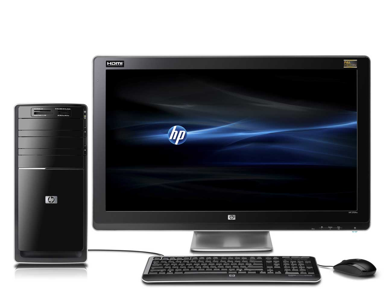 HP Pavilion P6340F Desktop PC (Black)