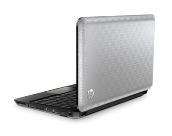 HP Mini 210-1050nr Netbook Back View