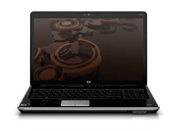 HP Pavilion dv6-2162nr Laptop PC Front View