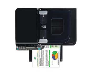 HP Officejet 4500 All-in-One Top View