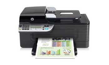 HP Officejet 4500 Wireless All-in-One Front View
