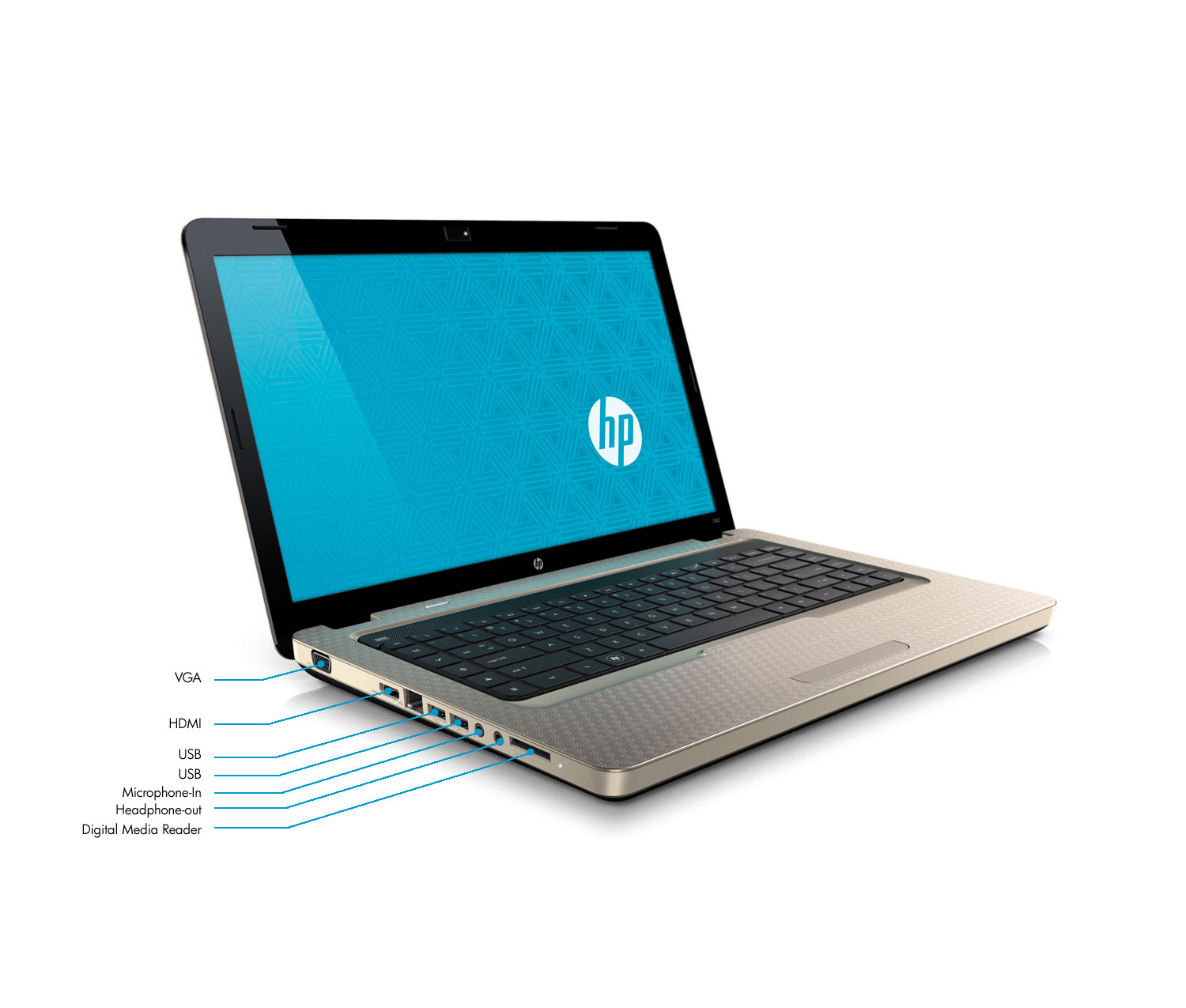Amazon.com : HP G62140US 15.6Inch Laptop Bronze : Notebook