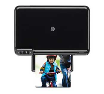 HP Photosmart e-All-in-One Top View