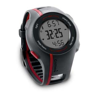Refurb   Buying Refurb Garmin Forerunner 110 GPS Enabled Sport Watch with Heart Rate Monitor (Red) SALE