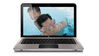 HP Pavilion dv6-3040us Entertainment Notebook PC Front View
