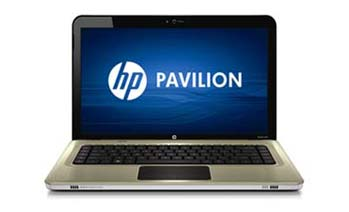 HP Pavilion dv6-3010us Entertainment Notebook PC Front View