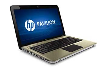 HP Pavilion dv6-3010us Entertainment Notebook PC Left View