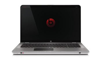 HP ENVY 17-1010NR laptop PC Front View