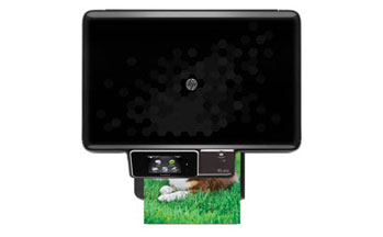 HP Photosmart Plus e-All-in-One Top View