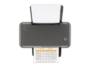 HP Deskjet 1000 Top View
