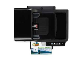 HP Officejet Pro 8500A Premium e-All-in-One Top View