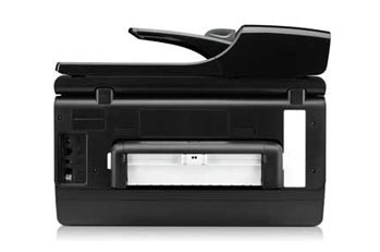 HP Officejet Pro 8500A Premium e-All-in-One Back View