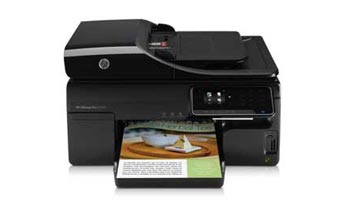 HP Officejet Pro 8500A e-All-in-One Front View