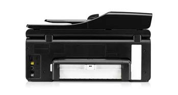 HP Officejet Pro 8500A e-All-in-One Back View