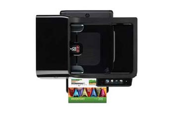 HP Officejet Pro 8500A Plus e-All-in-One Top View