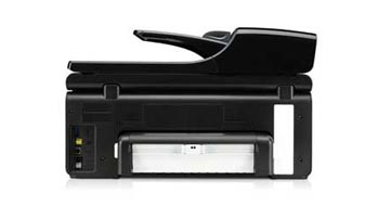HP Officejet Pro 8500A Plus e-All-in-One Back View