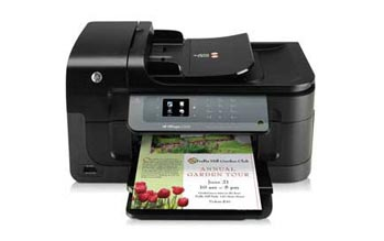 HP Officejet 6500A e-All-in-One Front View