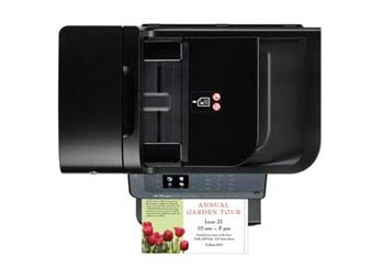 HP Officejet 6500A e-All-in-One Top View