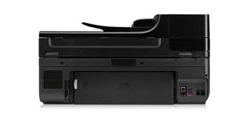 HP Officejet 6500A e-All-in-One Back View