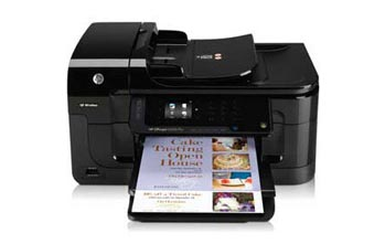 HP Officejet 6500A Plus e-All-in-One Front View