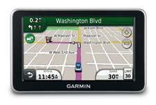 Garmin nüvi 2450 Display