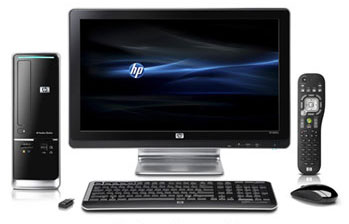 HP Pavilion Slimline s5660f PC Front View