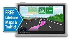 Refurb   Buy a Refurb Garmin nüvi 1450LMT 5 Inch Portable GPS Navigator with Lifetime Map & Traffic Updates Discount !!
