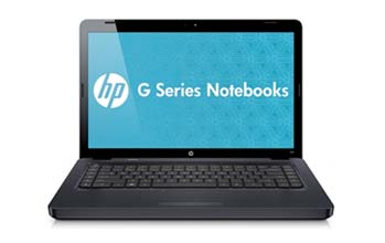 HP G62-340US Notebook PC Front View