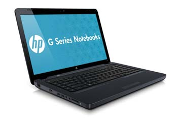 HP G62-340US Notebook PC Left View