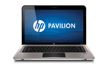 HP Pavilion dv6-3150us Entertainment Notebook PC Front View