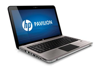 HP Pavilion dv6-3150us Entertainment Notebook PC Left View