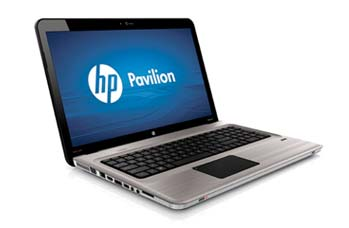 HP Pavilion dv7-4180us Entertainment Notebook PC Left View