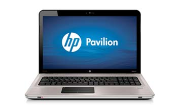 HP Pavilion dv7-4190us Entertainment Notebook PC Front View