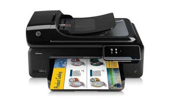 HP Officejet 7500A Wide Format e-All-in-One Front View