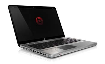 HP ENVY 17-1181NR laptop PC Left View