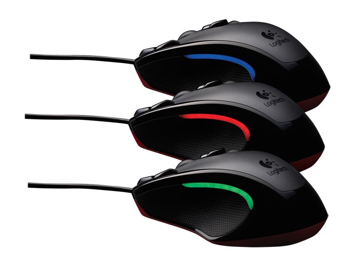 logitech gaming mouse g300 with nine programmable controls 910 002358 electronics. Black Bedroom Furniture Sets. Home Design Ideas