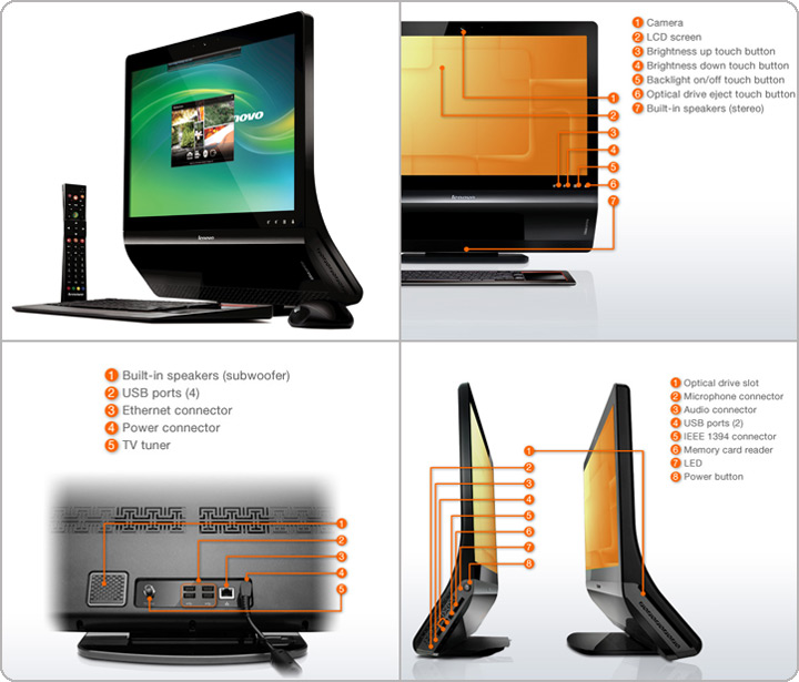 Lenovo IdeaCentre A600 showcase