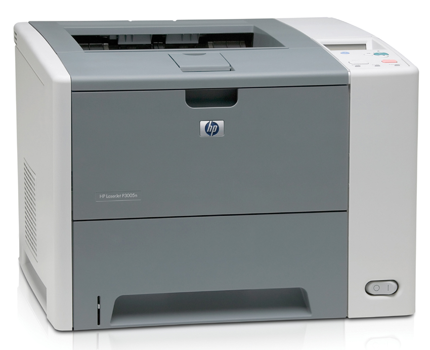The HP LaserJet P3005n has print speeds of up to 35 ppm, 48 MB RAM